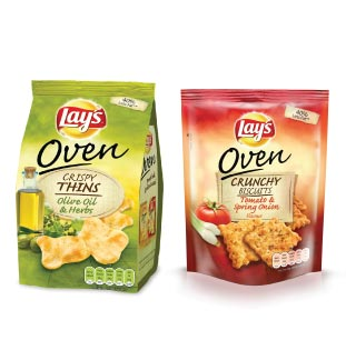 Lay's Oven Crunchy Biscuits & Crispy Thins 50% Terugbetaald cashback op myShopi
