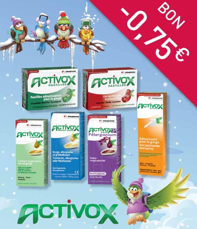 Activox 0,75€ Terugbetaald cashback op myShopi