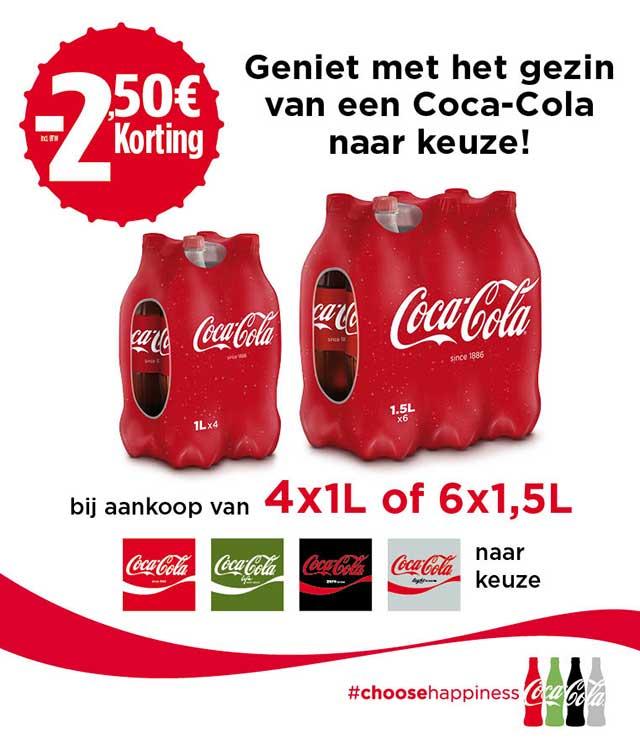 Coca Cola Family Offer 2,50€ Terugbetaald  cashback op myShopi