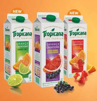 1L Tropicana Orange Creations 1€ Terugbetaald cashback op myShopi