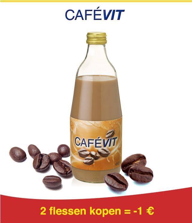 Cafévit 1€ Terugbetaald cashback op myShopi