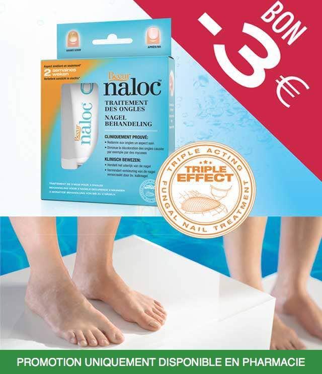 Cashback Naloc - Mycose des ongles 3€ Remboursés sur myShopi