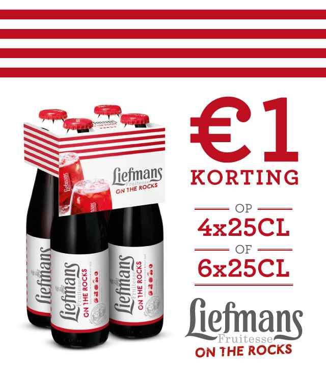 Liefmans Fruitesse 1€ Terugbetaald cashback op myShopi