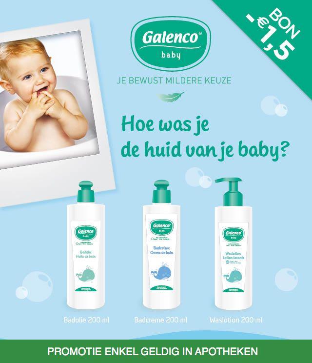 Galenco Baby Skin Care 1,5€ Terugbetaald  cashback op myShopi