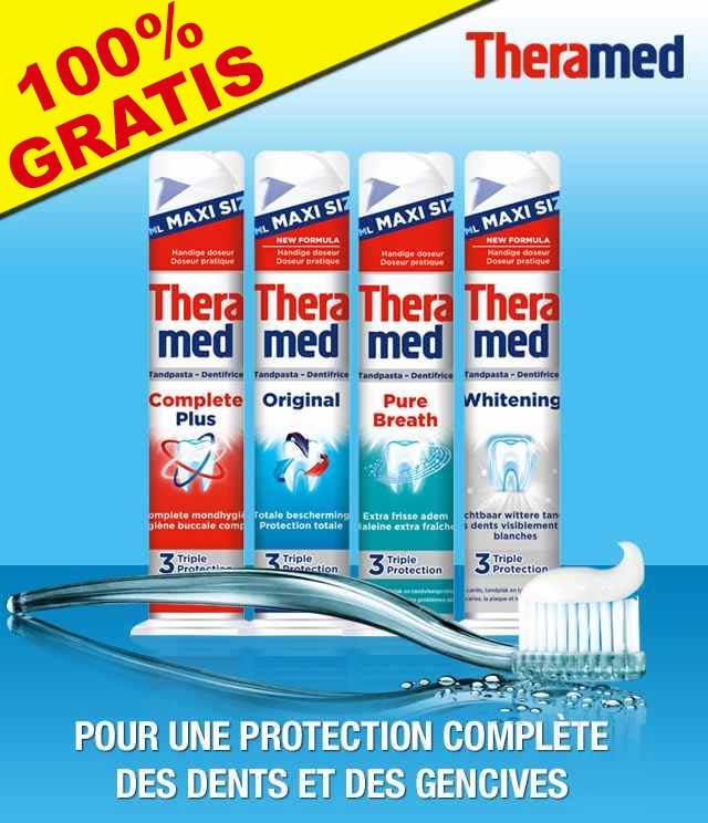 Cashback Dentifrice Theramed 100% Remboursé sur myShopi