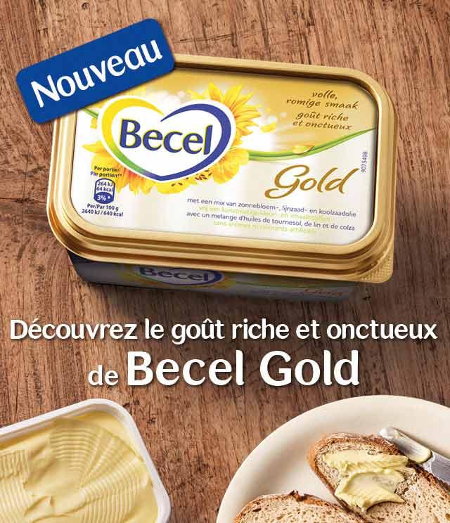 Cashback Becel Gold 25% Remboursé sur myShopi