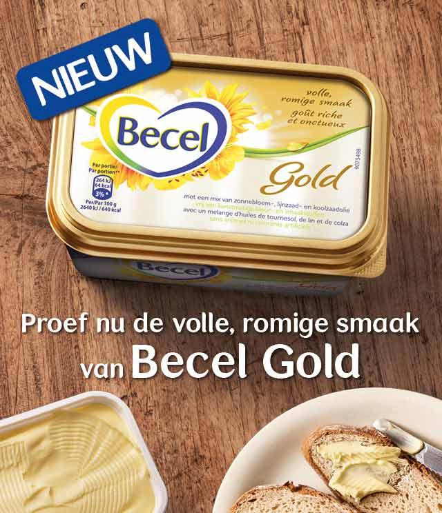 Becel Gold 25% Terugbetaald cashback op myShopi