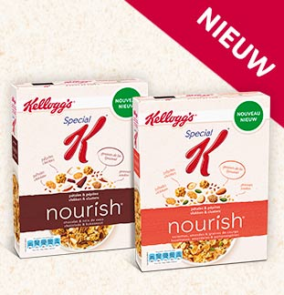Kellogg's Special K nourish 50% Terugbetaald cashback op myShopi