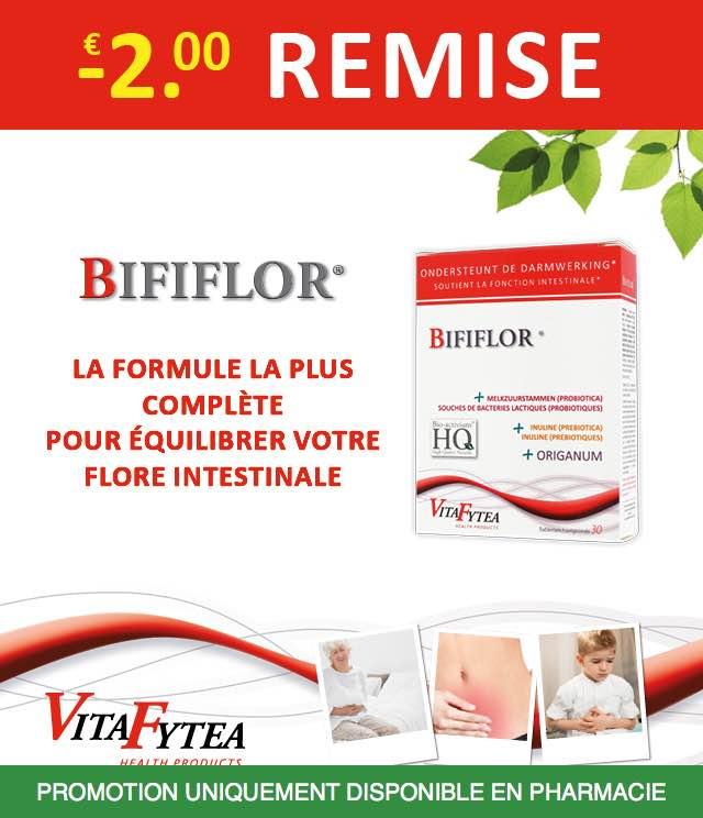 Cashback VitaFytea Bififlor - Flore intestinale 2€ Remboursés sur myShopi