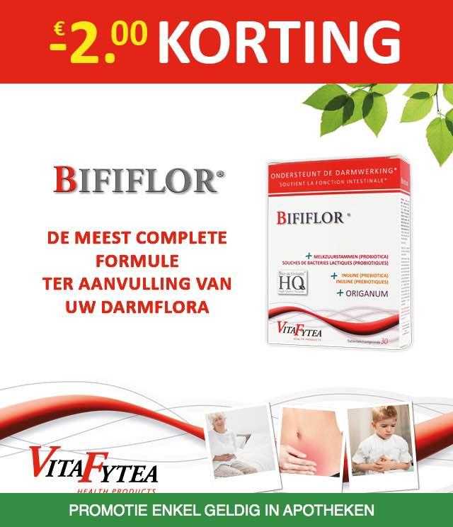 VitaFytea Bififlor - Darmflora 2€ Terugbetaald cashback op myShopi