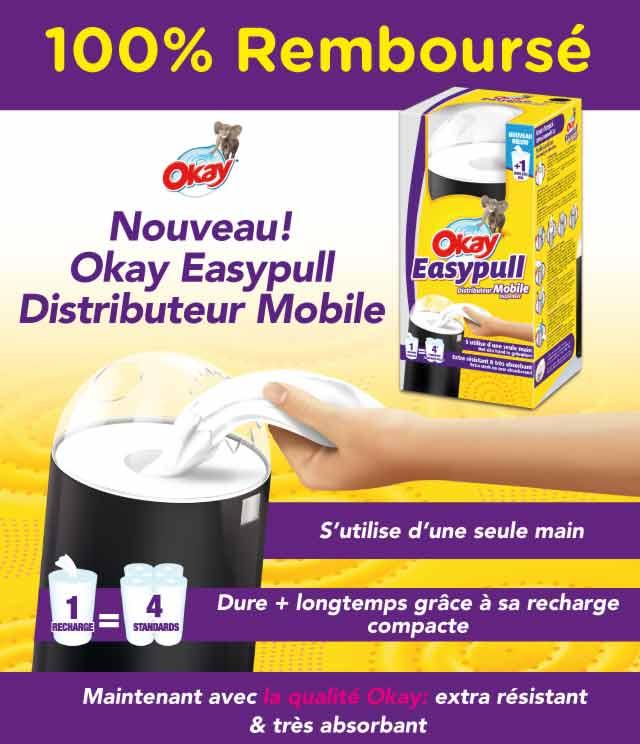 Cashback Okay Easypull Distributeur Mobile 100% Remboursé sur myShopi