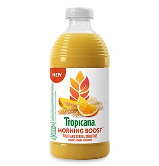Cashback Tropicana Morning Boost 50% remboursés sur myShopi