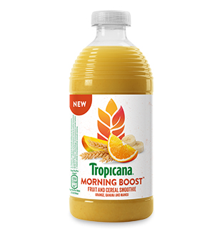 Tropicana Morning Boost 50% terugbetaald