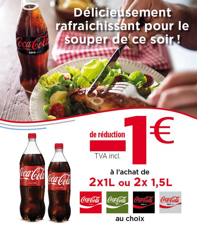 Cashback Coca Cola Meal For Tonight 1€ Remboursé  sur myShopi
