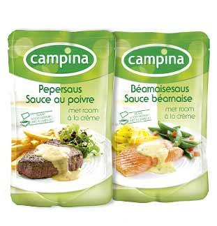 Cashback Campina Sauces à la Crème 100% Remboursé sur myShopi