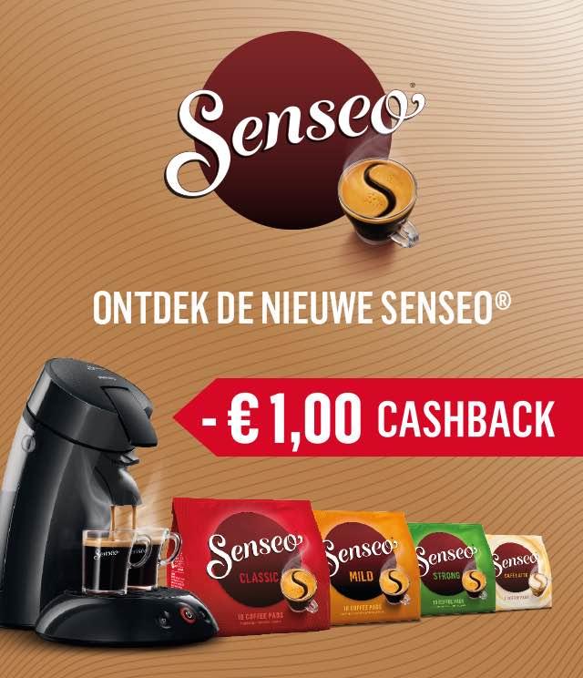 SENSEO® 1€ Terugbetaald cashback op myShopi