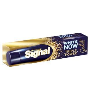 Cashback Signal White Now Gold 0,75€ Remboursé sur myShopi