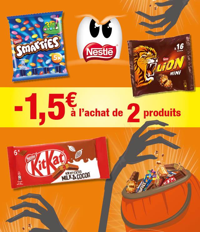 Cashback Action épargne Chocolat NESTLÉ   3€ remboursés sur myShopi
