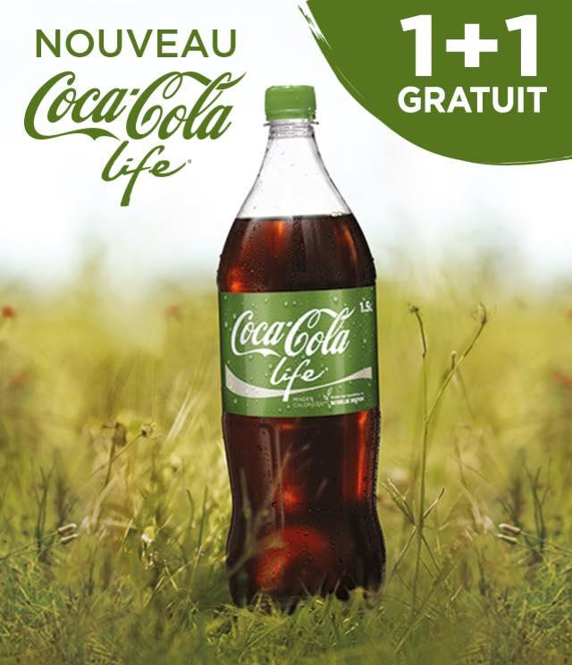 Cashback Coca-Cola Life 1+1 Gratuit sur myShopi