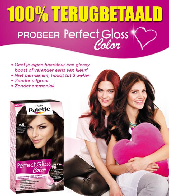 Perfect Gloss Color 100% Terugbetaald cashback op myShopi