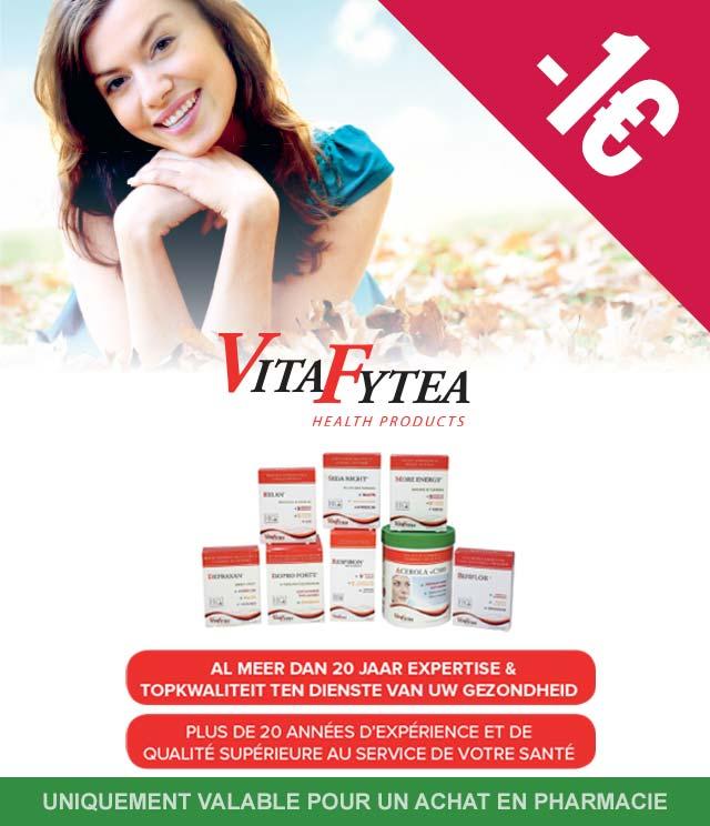 Cashback VitaFytea - Vitamines 1€ Remboursé sur myShopi