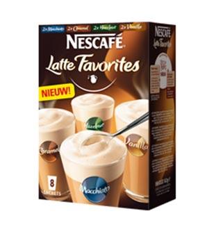 myShopi - Actie Nescafé Latte Favorites 50% Terugbetaald