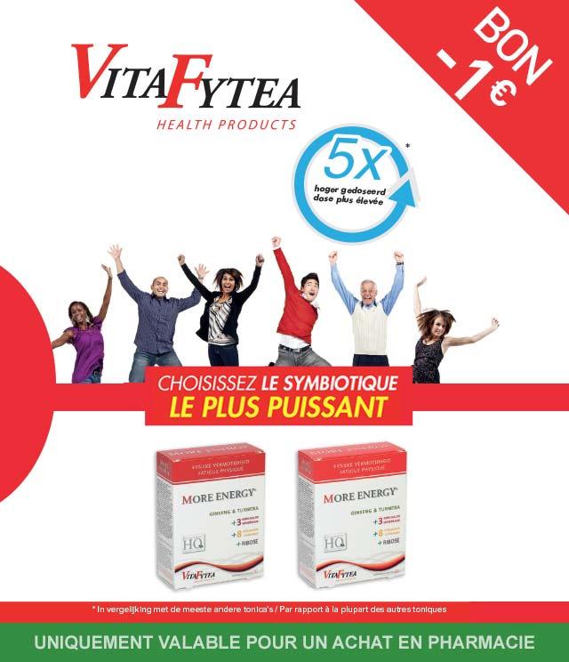 Cashback VitaFytea - Fatigue physique 1€ Remboursé sur myShopi