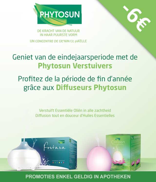 Phytosun - Verstuivers 6€ Terugbetaald cashback op myShopi