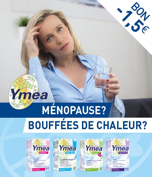 Cashback Ymea - Ménopause 1,50€ Remboursés sur myShopi