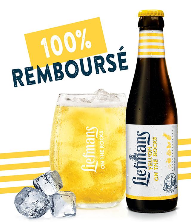Cashback Liefmans Yell'Oh 100% Remboursé sur myShopi