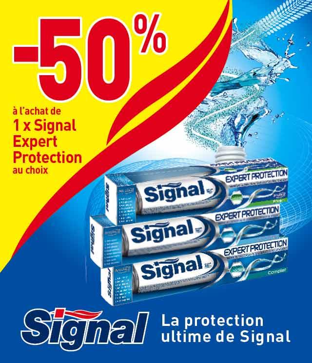 Cashback Signal Expert Protection 50% Remboursé sur myShopi