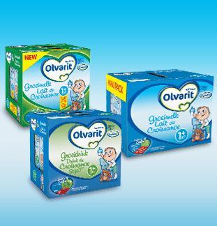 Olvarit groeimelk 2€ of 5€ terugbetaald