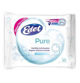 Edet vochtig toiletpapier cashback : 100% Terugbetaald