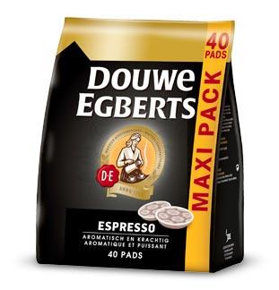 Douwe Egberts Espresso pads 50% remboursé