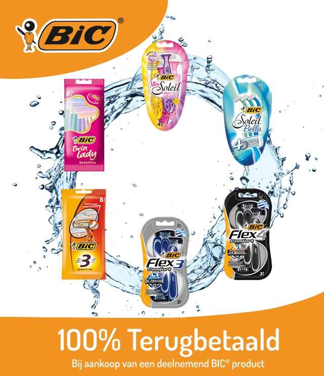BIC® Scheermesjes  100% terugbetaald cashback op myShopi