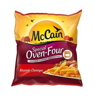 McCain Ovenfrietjes 100% terugbetaald