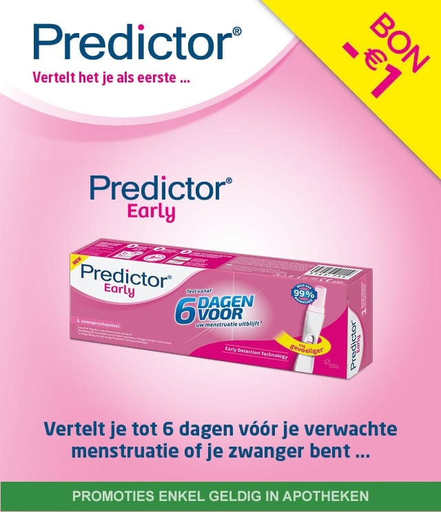 Predictor Early 1€ Terugbetaald cashback op myShopi
