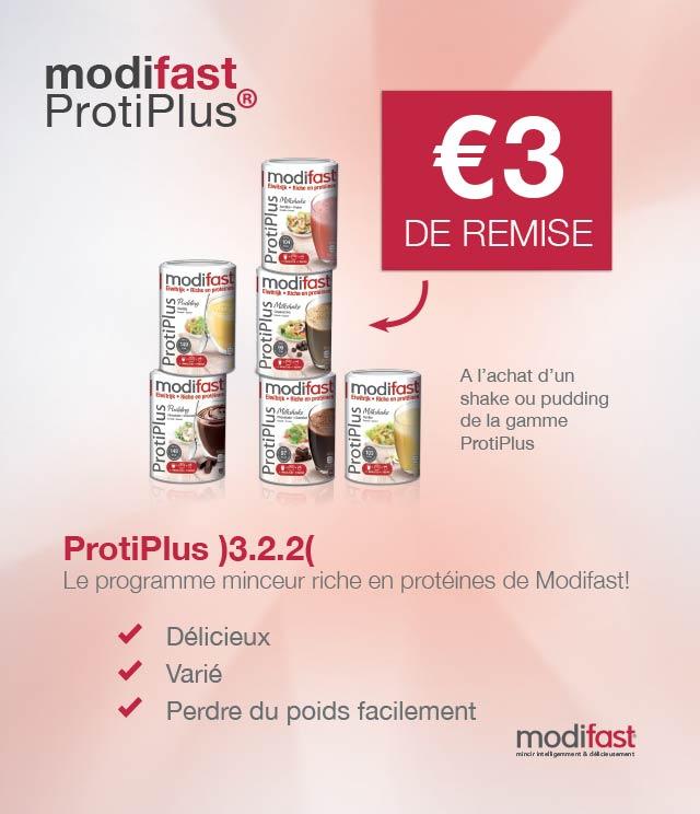 Cashback Modifast ProtiPlus 3€ Remboursés sur myShopi