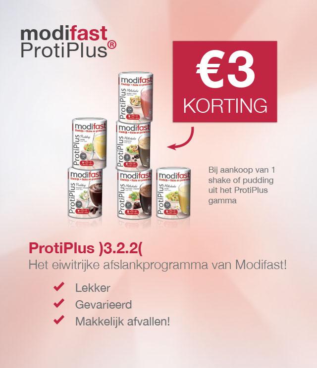 Modifast ProtiPlus 3€ Terugbetaald cashback op myShopi