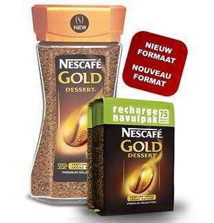 NESCAFÉ® Gold Dessert Navulpak Terugbetaald 100% cashback op myShopi