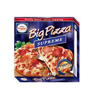 Cashback Wagner Big Pizza Votre Big Pizza à 2€ sur myShopi