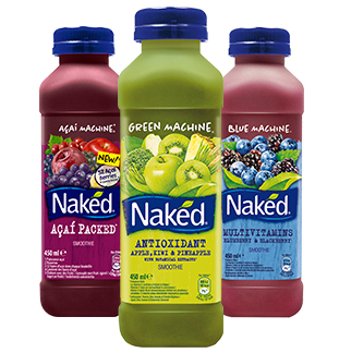 Naked Smoothie 1 voor €2