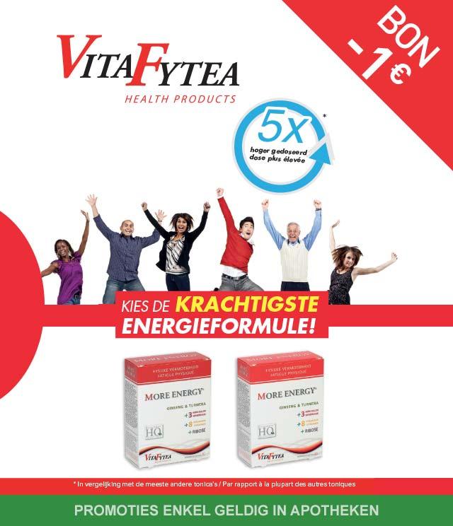 VitaFytea - Fysieke vermoeidheid 1€ Terugbetaald cashback op myShopi