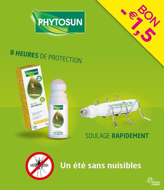 Cashback Phytosun - Anti-insectes 1,50€ Remboursé sur myShopi