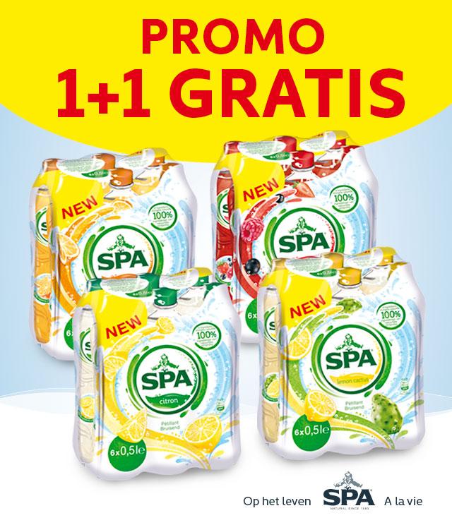 Spa Fruit 1+1 gratis  cashback op myShopi