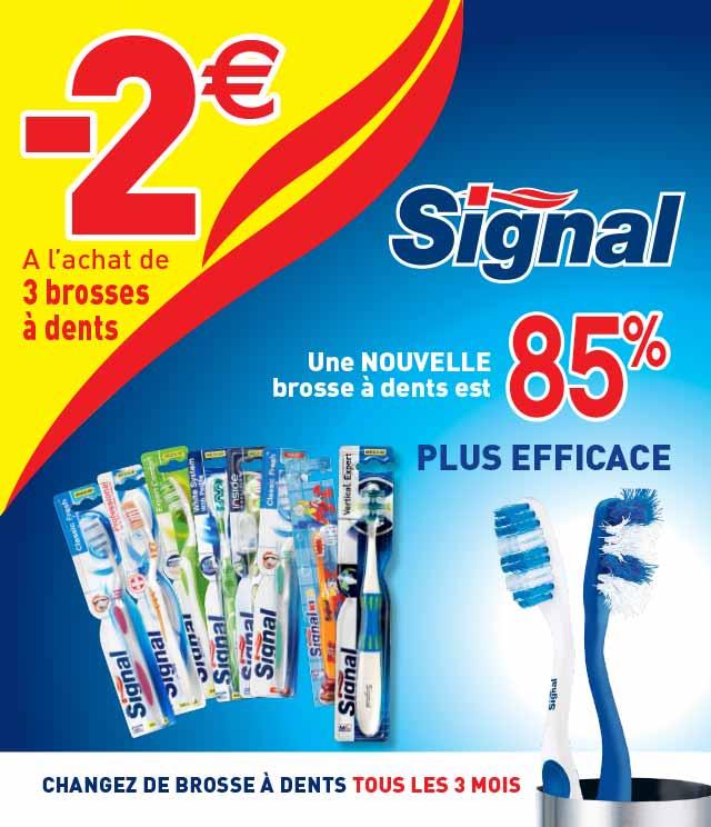 Cashback Signal Brosse à dents 2€ Remboursés sur myShopi