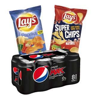 Pepsi - Lay's 2€ Terugbetaald cashback op myShopi