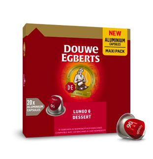 Douwe Egberts capsules 50% terugbetaald