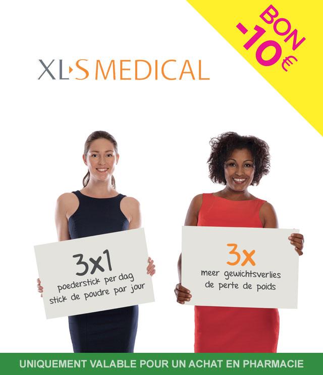 Cashback XL-S Medical - Capteur de graisses 10€ Remboursés sur myShopi
