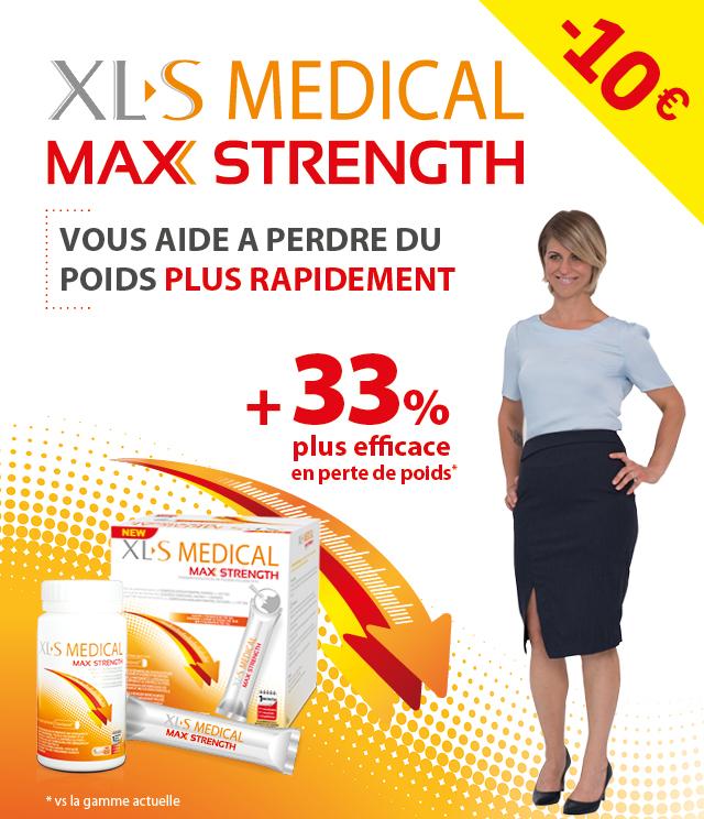 Cashback XLS Medical Max Strength 10€ remboursés  sur myShopi